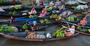 PIPA Merit Award - Tan Guan Chai (Malaysia)<br />Indonesia Floating Market