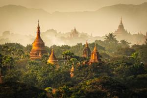 PSA HM Ribbons - Steven Y K Chew (Singapore)<br />Bagan Pagodas