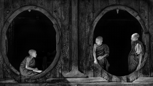 PIPA Merit Award - Tan Ee Sin (Singapore)<br />Monks At The Oval Windows