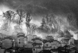 PhotoVivo Merit Award - Claudia Xiaoli Lee (Taiwan)<br />A-Misty Morn Bw