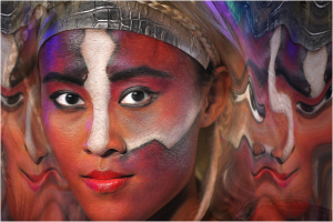 PhotoVivo Merit Award - David Poey-Cher Tay (Singapore)<br />D2-Painted Face