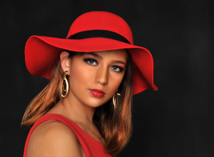 PhotoVivo Merit Award - Larry Cowles (USA)<br />Tina Cute In Red