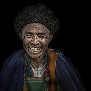 PhotoVivo Merit Award - Jing Lai (China)<br />Happy Yi People