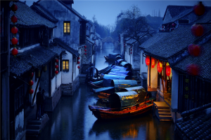 PhotoVivo Gold Medal - Ruiyuan Chen (China)<br />Dream In The Jiangnan