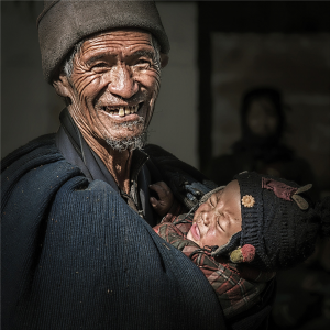 PhotoVivo Honor Mention - Maogui Chen (China)<br />Crying And Laughter