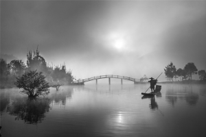 RPS Silver Medal - Jianjun Zou (China)<br />Working In The Morning