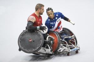 PIPA Silver Medal - Phillip Kwan (Canada) <br /> Wheelchair Rugby 4