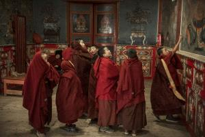 PIPA Merit Award - Weijing Zhang (China)  Little Monks