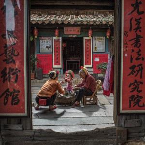 PhotoVivo Honor Mention - Peiyang Wang (China)  My Daughter