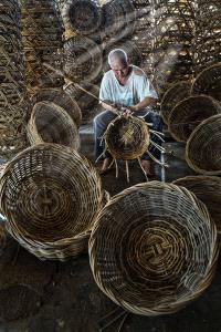 PhotoVivo Honor Mention - Soon Seng Leong (Malaysia) <br /> Woven Rattan Basket 75