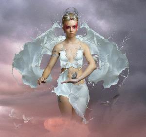PSA HM Ribbons - Carol Robinson (Australia) <br /> High Priestess