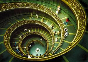 PhotoVivo Gold Medal - Sami Ur Rahman (United Kingdom) <br /> Vatican Staircase