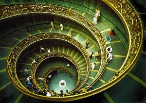 PhotoVivo Gold Medal - Sami Ur Rahman (United Kingdom)  Vatican Staircase