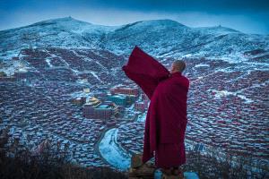 PIPA Merit Award e-certificate - Liansan Yu (China)  Monk In Red 3