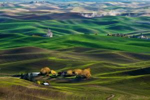 PhotoVivo Honor Mention e-certificate - Philip Chan (Canada) <br /> Wheatland In Palouse Wa