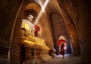 PIPA Merit Award e-certificate - Thi Ha Maung (Myanmar) <br /> Praying The Lord Buddha 2